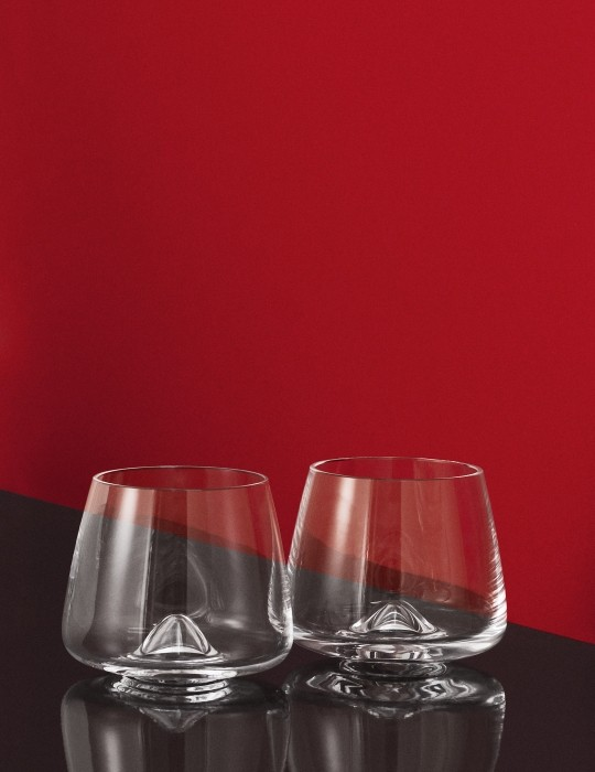 Normann Copenhagen whiskey glass
