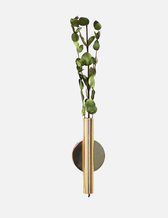 Wall vase gold