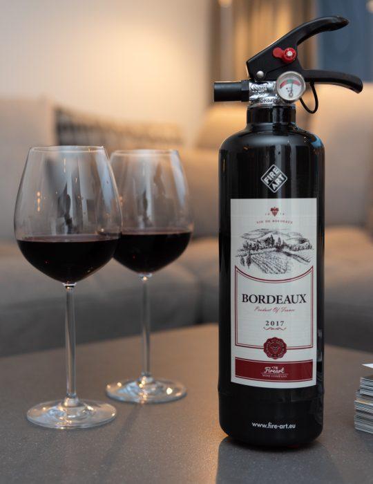 Fire-art Designblusser Wijn