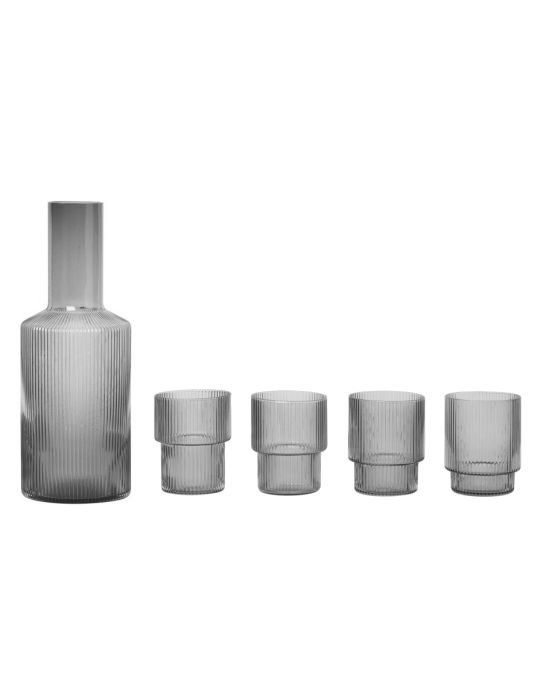 ferm-ripple-carafe-set-grey-normal