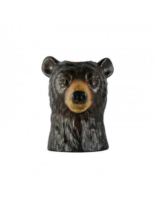 ByON Large Brown Bear Vase