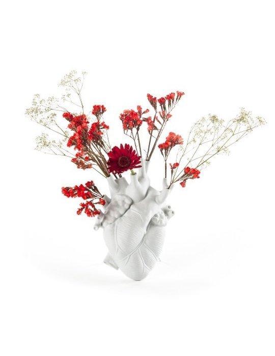 seletti heart vase