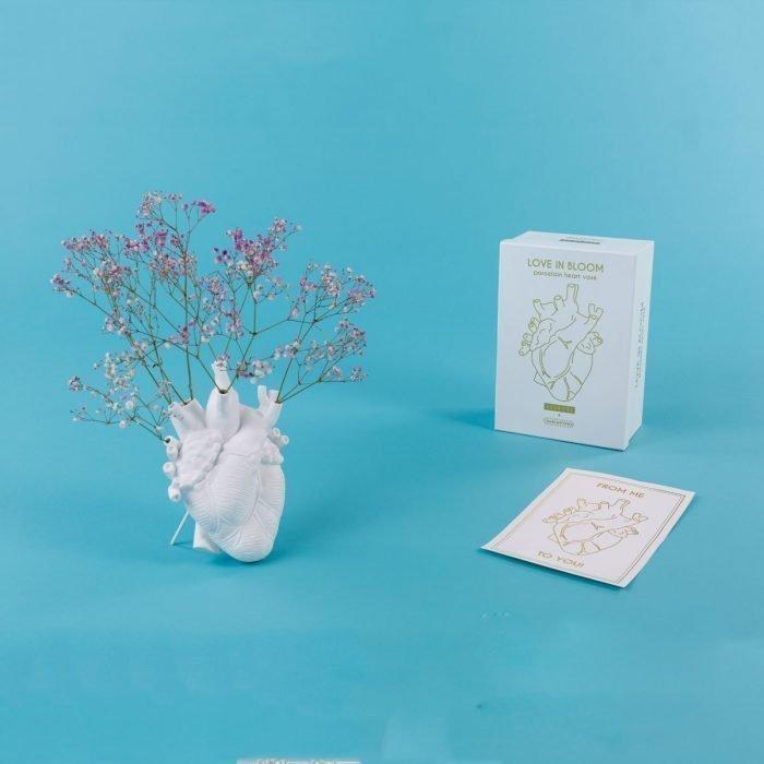Seletti Heart in Bloom vase