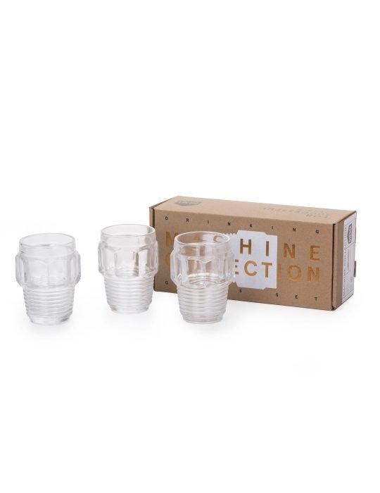 Seletti Small Drinking Glass Giftset Machine Collection